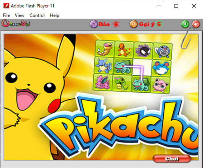 tai game pikachu co dien 3
